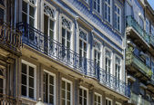 Portugal city street view — Stock Photo