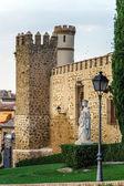 Toledo castle view — Foto Stock