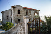 Ruins of houses leaved by owners — Stock Photo