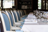 Old-styled restaurant waiting for visitors — Stock Photo