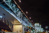Katedrála krista spasitele v moskvě — Stock fotografie