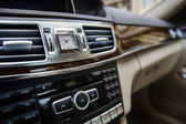 Adjustment handles in town car — Stockfoto