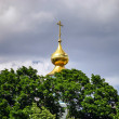 Gold dome on orthodox church — Stock Photo #49571771