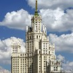 Постер, плакат: Moscow stalin skyscraper house