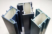 Fiber glass pultruded profile for windows and doors — Stock Photo
