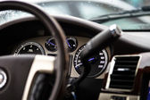 Luxury car dashboard — Stock Photo