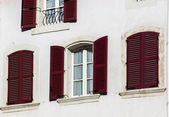Window with shutters. Old city. — Stock Photo