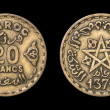 Antique coin of 20 francs — Stock Photo #49585685