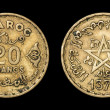 Antique coin of 20 francs — Stock Photo #49585811