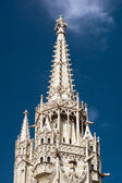 Gothic cathedral at Castle of Buda, Budapest, Hungary — Stock Photo
