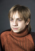 Teenage boy portrait — Stock Photo