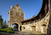 Old medieval fortress in Budapest, Hungary. — Foto Stock