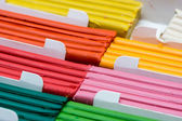 Colorful plasticine set for children playing — Stockfoto