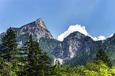 Krásné skály v alpách — Stock fotografie