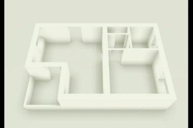 Building Apartment — Stock Video