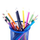 Barevný tužky — Stock fotografie