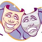 Постер, плакат: Drama Masks