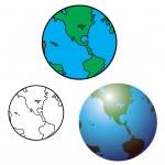 Earth Globe — Stock Vector #50437153