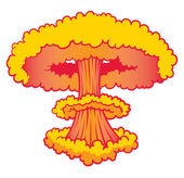 Nuke Explosion — Stock Vector