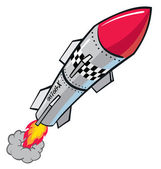 Rocket Missle — Stock Vector