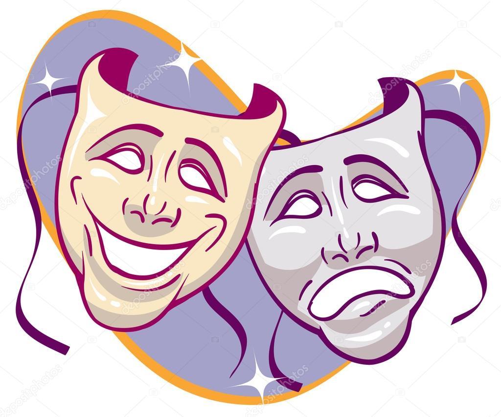 Resultado de imagem para mascaras de teatro