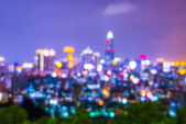 City  Night view — Stock Photo
