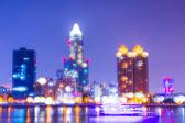 City  Night view — Stock Photo