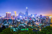 Taiwan's second largest city - Kaohsiung — Stock Photo