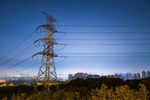 高压塔 — 图库照片