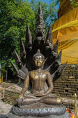 Beauty Buddha sculpture — Stock Photo