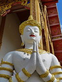 古代佛像雕塑 — 图库照片