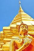 золотая пагода — Стоковое фото