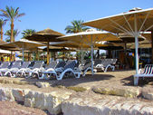 Eilat northern coast  - Nine Beach — Stock Photo