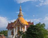 Klášter wat chuai mongkong v pattaya, Thajsko — Stock fotografie