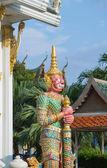 Royal monastery Wat Chuai Mongkong in Pattaya, Thailand — Foto de Stock