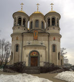 Ascension Cathedral in Zvenigorod, the Moscow region — Stock Photo