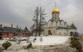 Catedral de la Natividad de la Virgen en el monasterio de la savvino-storozhevsky de hombre en zvenigorod, la región de Moscú — Foto de Stock