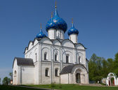 Nativity Cathedral in the Kremlin of Suzdal, the Vladimir region — Stock Photo