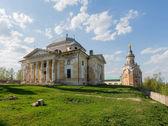 Boris ve glebs katedrali, borisoglebsky manastırı, torzhok tver bölgesi — Stok fotoğraf