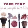 Make up cosmetics set background — Stock Photo #48871437