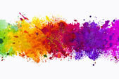 Watercolor splash background — Stock Photo