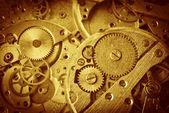 Clock mechanism — Foto de Stock