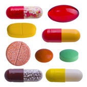 Colorful pills — Foto de Stock