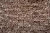 Old brown canvas texture — Stock Photo
