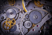 Mechanism with gears — Stock Photo