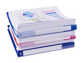 Pile of business papers — Stock Photo
