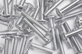 Screw bolts heap — Stock Photo