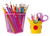 Various school supplies — Stock Photo