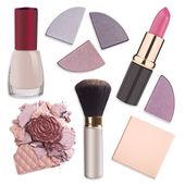 Various makeup products — Stock Photo