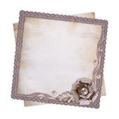 Tarjeta de felicitación de vintage — Foto de Stock